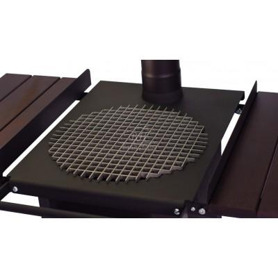 Гриль-решетка для печи SMAGA M круг из квадрата
