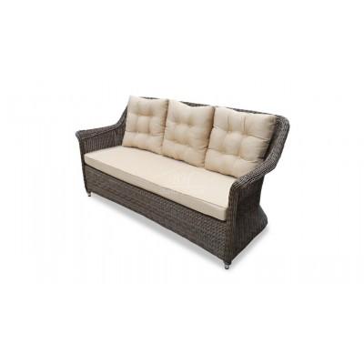 Плетеный диван OPAL 3-х местный
