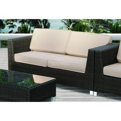 Плетеный диван MALAGA 2-х местный