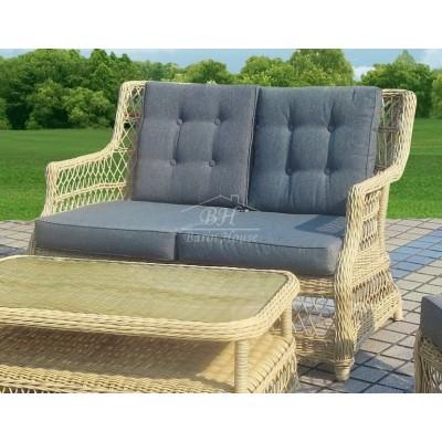 Плетеный диван OSLO 2-х местный