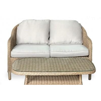 Плетеный диван OLIVIA 2-х местный