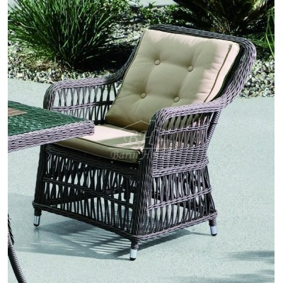Плетеное кресло CANNES обеденное