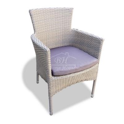 Плетеное кресло AROMA светло-коричневое