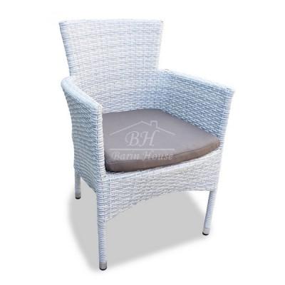 Плетеное кресло AROMA светло-серое