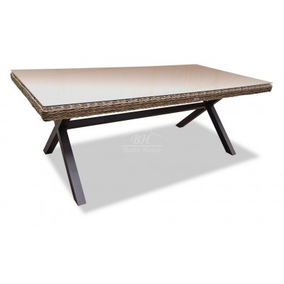Плетеный стол OPAL 210 см