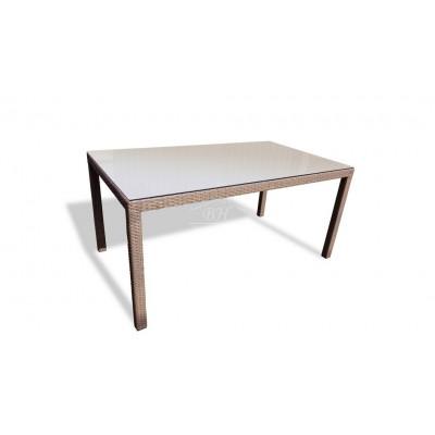 Плетеный стол ROME 160 см